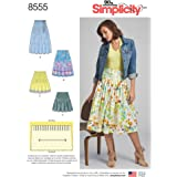 Simplicity Patterns Skirts Pants, H5 (6-8-10-12-14)