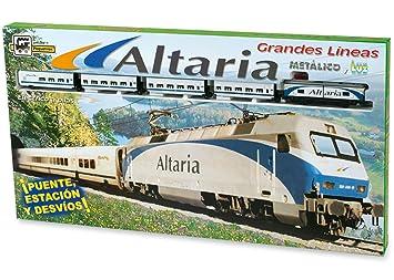PEQUETREN - Altaria-Renfe, Tren con Circuito de 6.1 m (990 ...