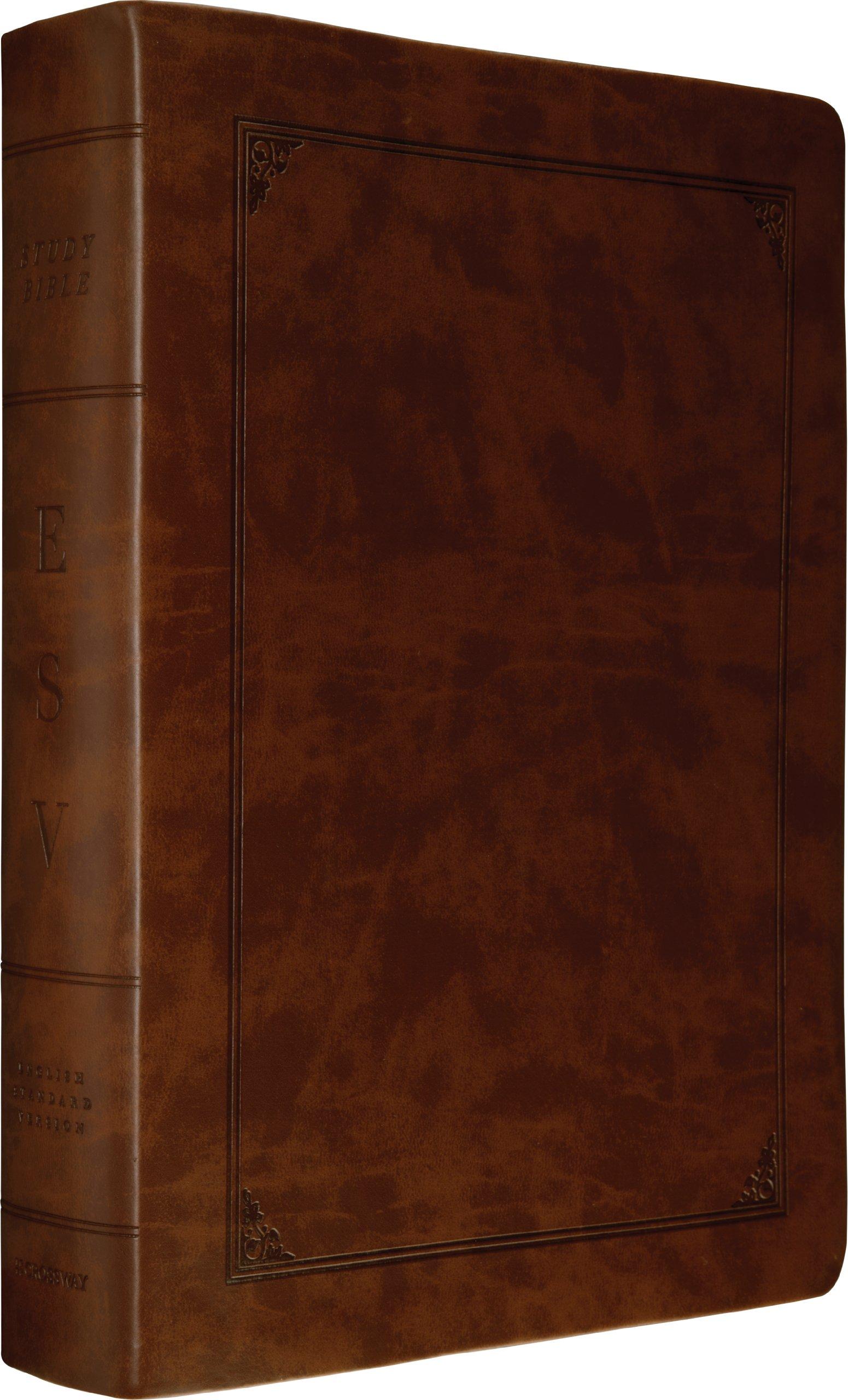 Download ESV Study Bible, Larger Print (TruTone, Walnut, Frame Design) ebook