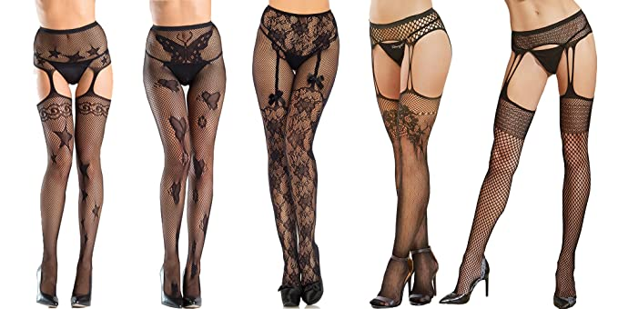 Theme, will suspender pantyhose lace