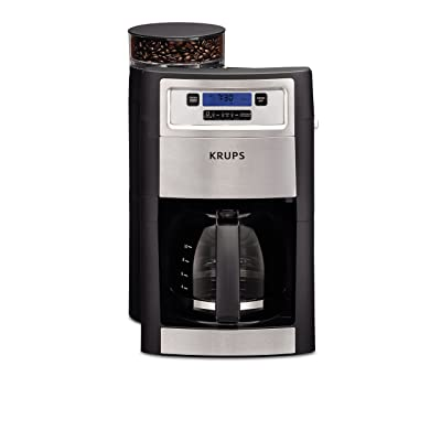 KRUPS KM785D50 Automatic Programmable Grind and Brew Coffee Maker