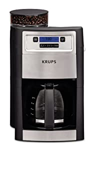 RUPS Grind and Brew Auto-start Coffee Maker