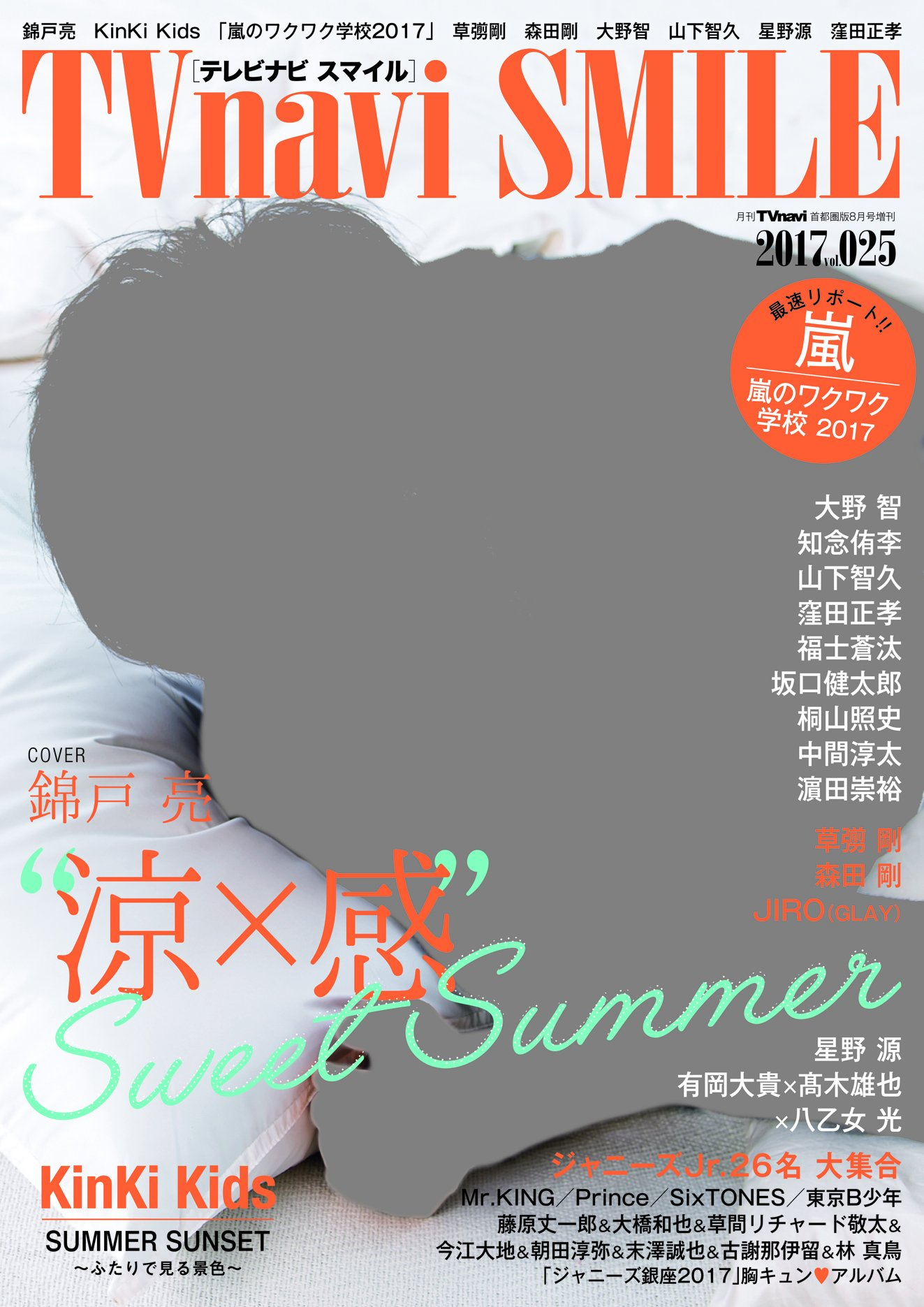 TVnavi首都圏版増刊 2017年8月号 TV navi SMILE(25)