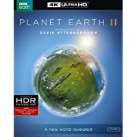 Planet Earth 2 (Imported 4 Disk Edition ) {4K UHD + Blu-ray + UV} [Region Free]
