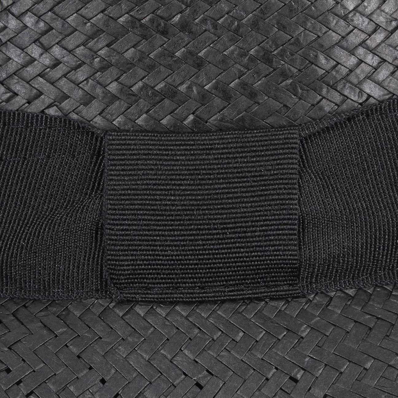 Lipodo Cappello Paglia Black Mountain estivo cappelli di Bogart