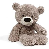 "GUND 4059989 Fuzzy Teddy Bear Stuffed Animal Plush, Gray, 13.5"" Stuffed Animal, Gray, 34.29 cm"