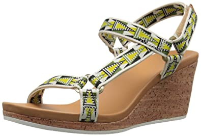 Teva Damen Arrabelle Universal Sandale, 40 B(M) EU, Mosaik-Kalk