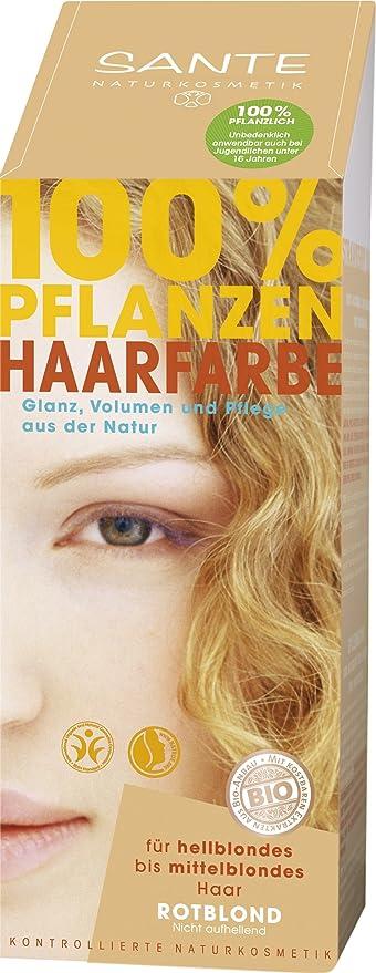 Sante Naturkosmetik 40180 coloración del cabello Rubio ...