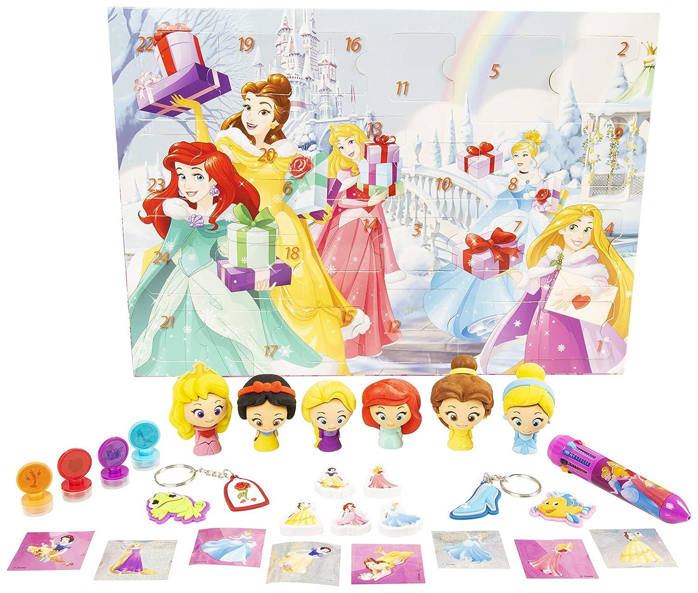 Multicolor Sambro Calendario de adviento de Princesas Disney