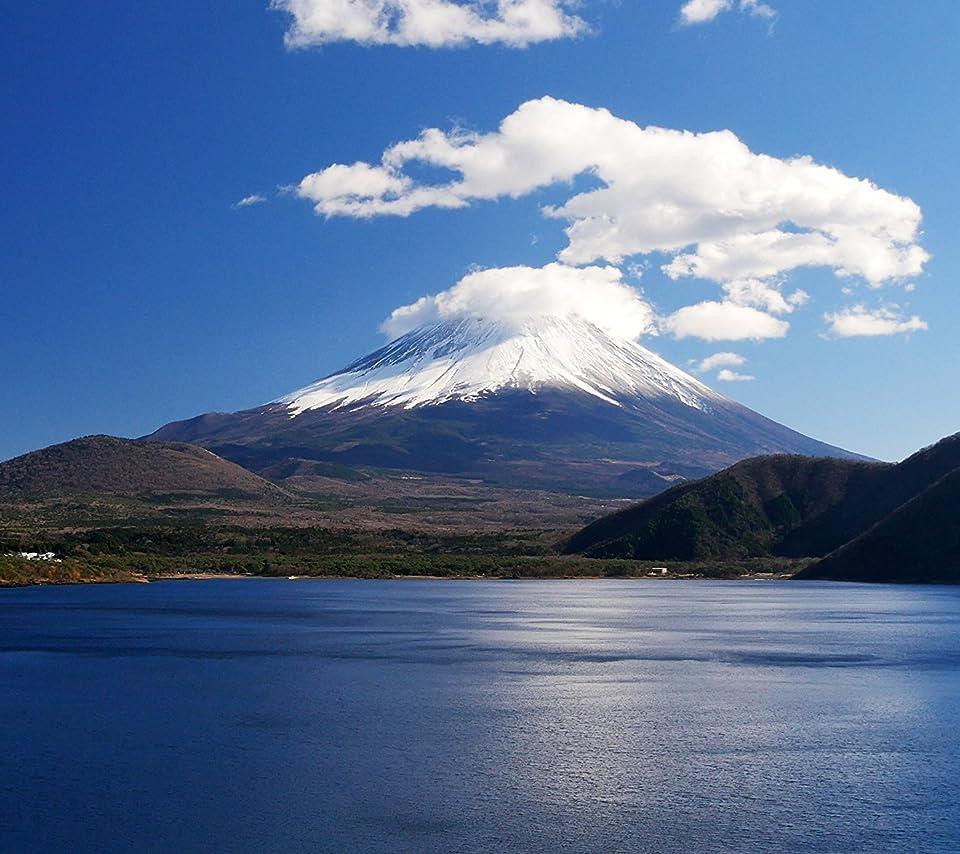 富士山待ち受け効果