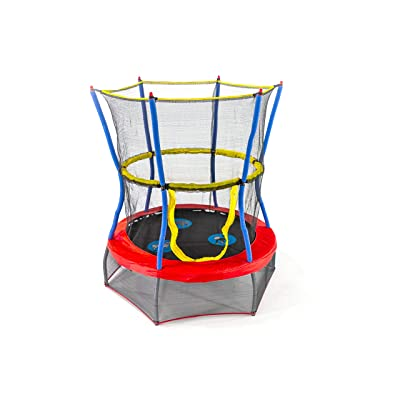 Skywalker Trampolines Mini Trampoline with Enclosure Net : Sports & Outdoors