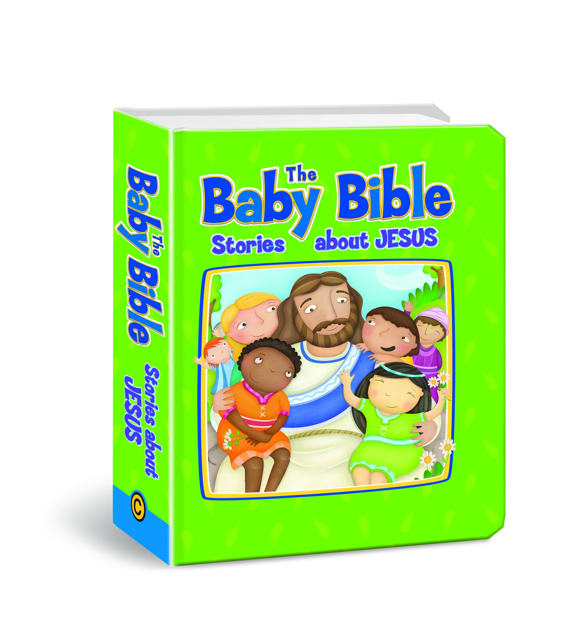 The Baby Bible Stories about Jesus (The Baby Bible Series)