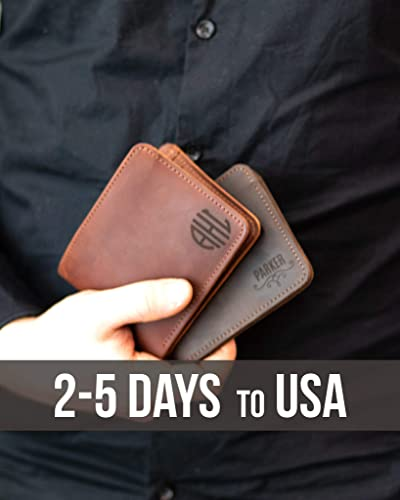 d0e03f1e49ab Bifold Wallets for Men Slim christmas gift Front Pocket Wallet ID Card