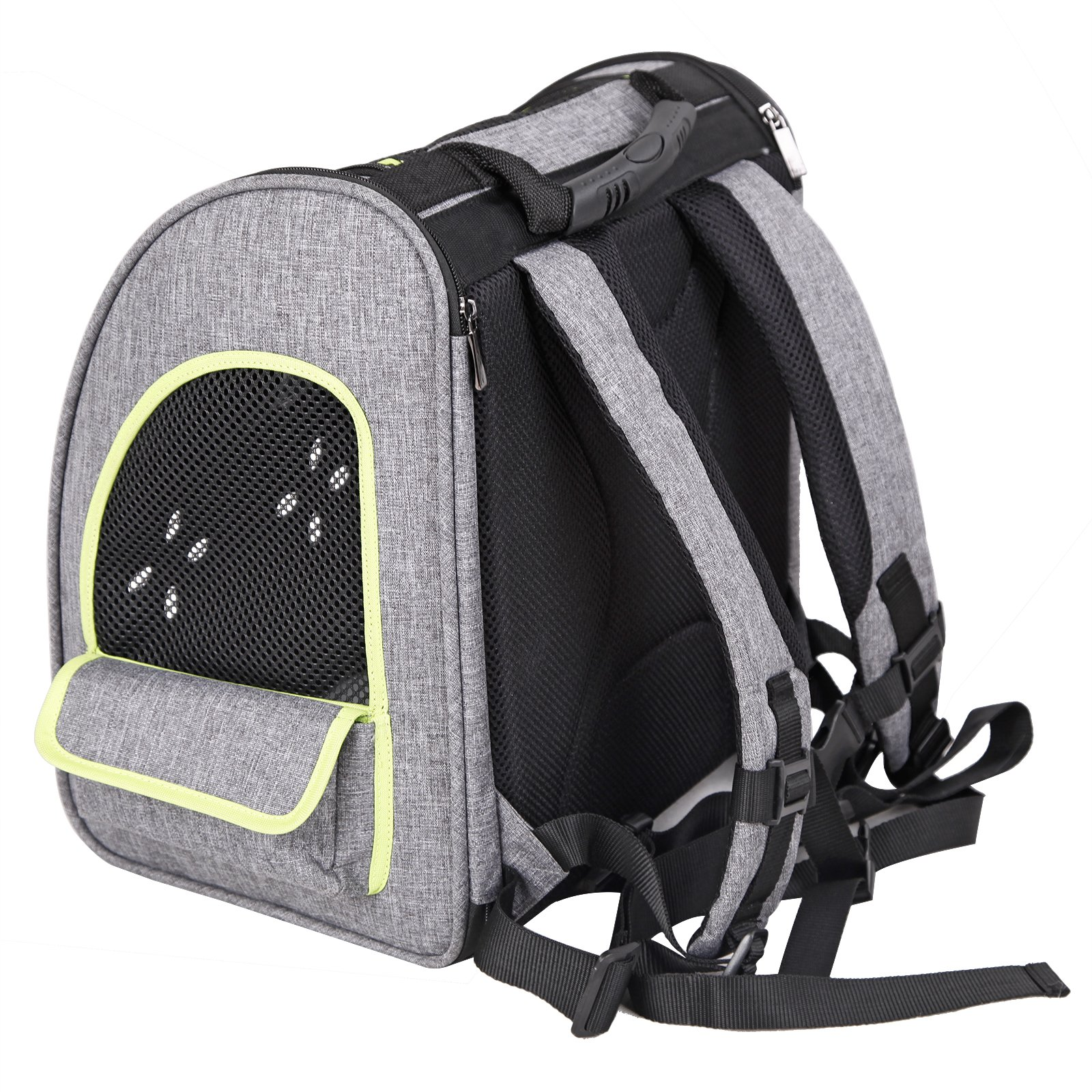 Petsfit Dogs Carriers Backpack for Cat/Dog/Guinea Pig/Bunny Durable and Comfortable Pet Bag by Petsfit (Image #5)