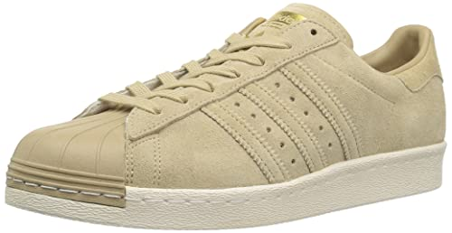 classic fit c18c7 bee16 adidas Superstar 80s Women Shoes BB2227 Khaki/Gold Sneakers ...