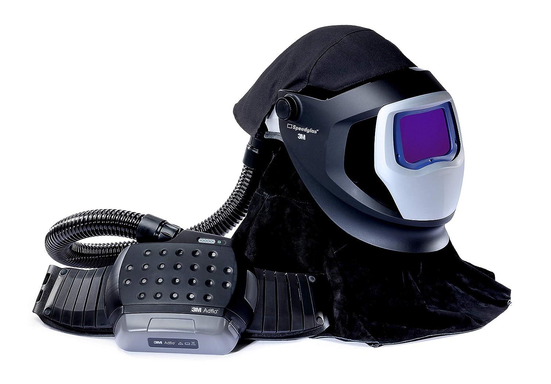 Image of Welding Helmets 3M Adflo PAPR and Versaflo M-Series Helmet Kit Speedglas Welding Shield, 38-1101-30iSW, Li Ion Battery, ADF 9100 XXi 1 EA/CASE