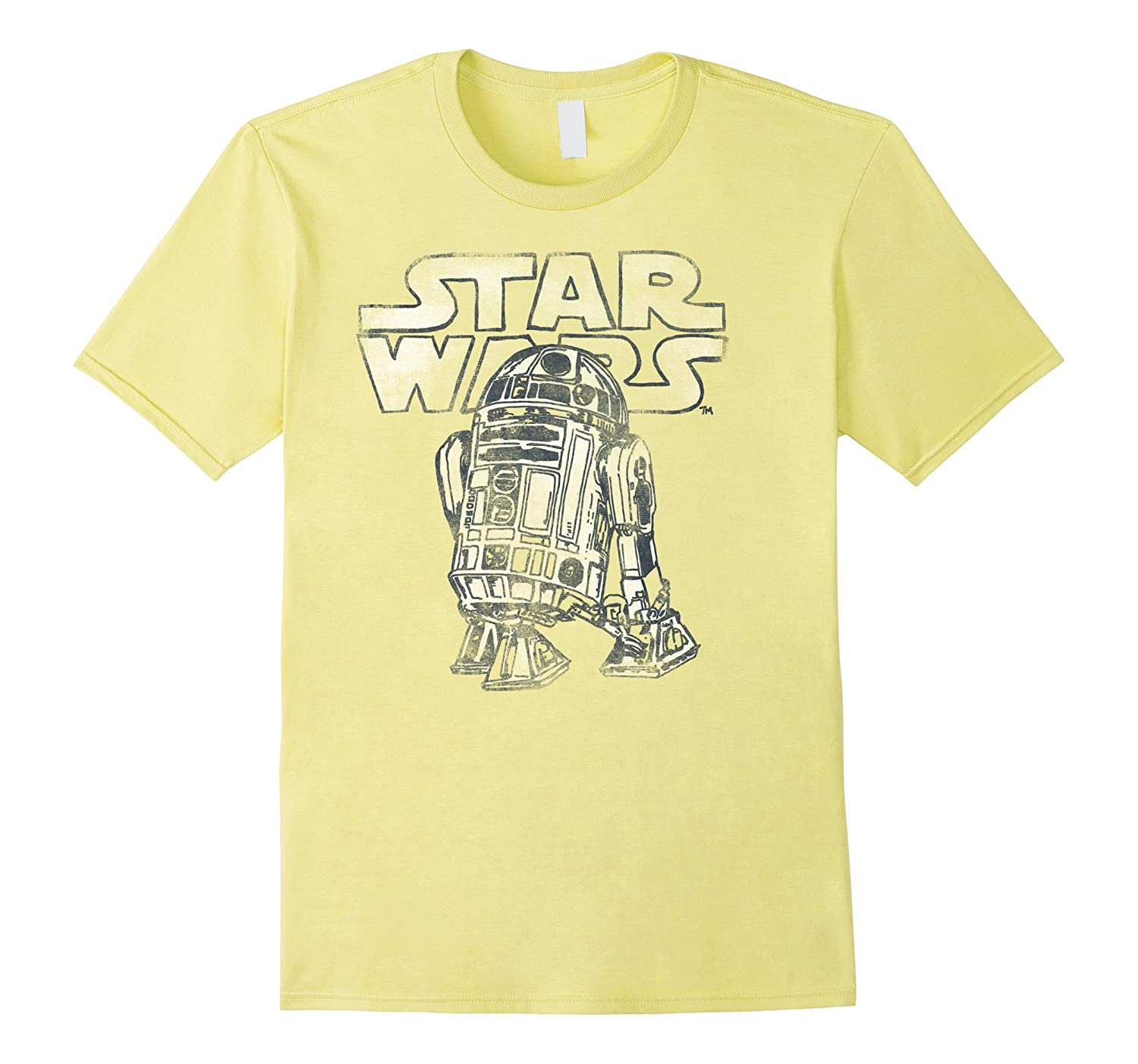 Star Wars R2 D2 Vintage Style Graphic T Shirt Rt Rateeshirt