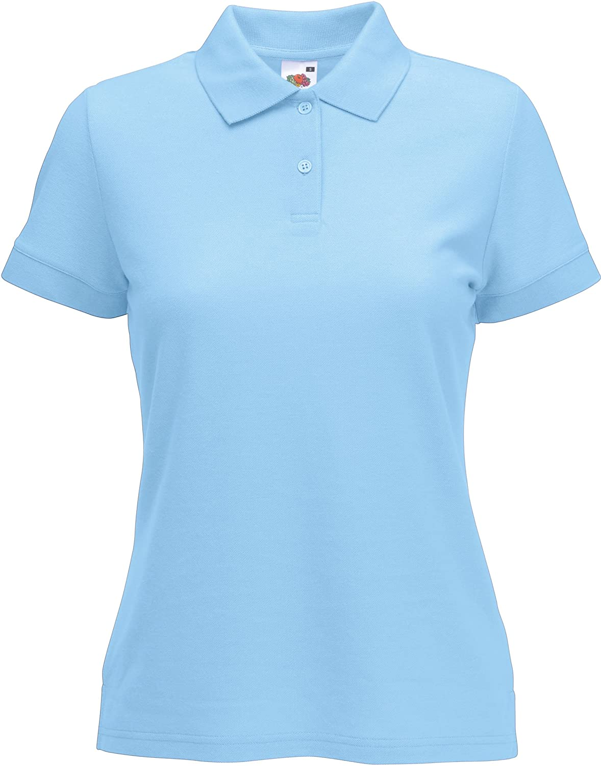 Fruit Of The Loom Lady-Fit 65/35 Polo Shirts: Amazon.es: Ropa y ...