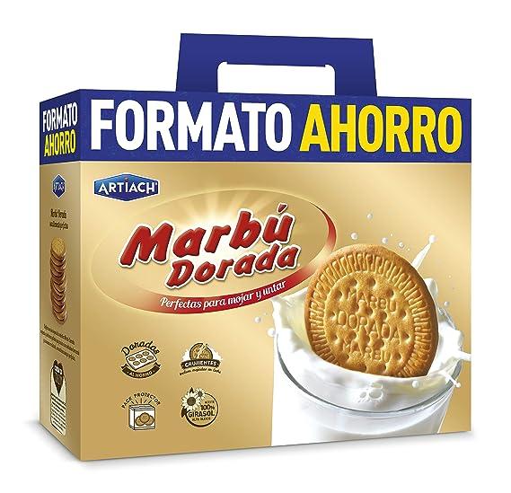 Marbú Galletas - Paquete de 4 x 1800 gr - Total: 7200 gr