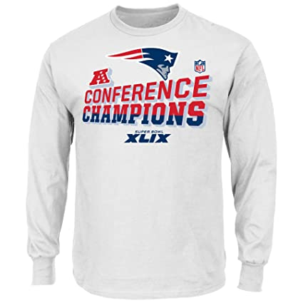 Image Unavailable. Image not available for. Color  Majestic New England  Patriots 2014 AFC Champions Locker Room L S T-Shirt ad04e9646