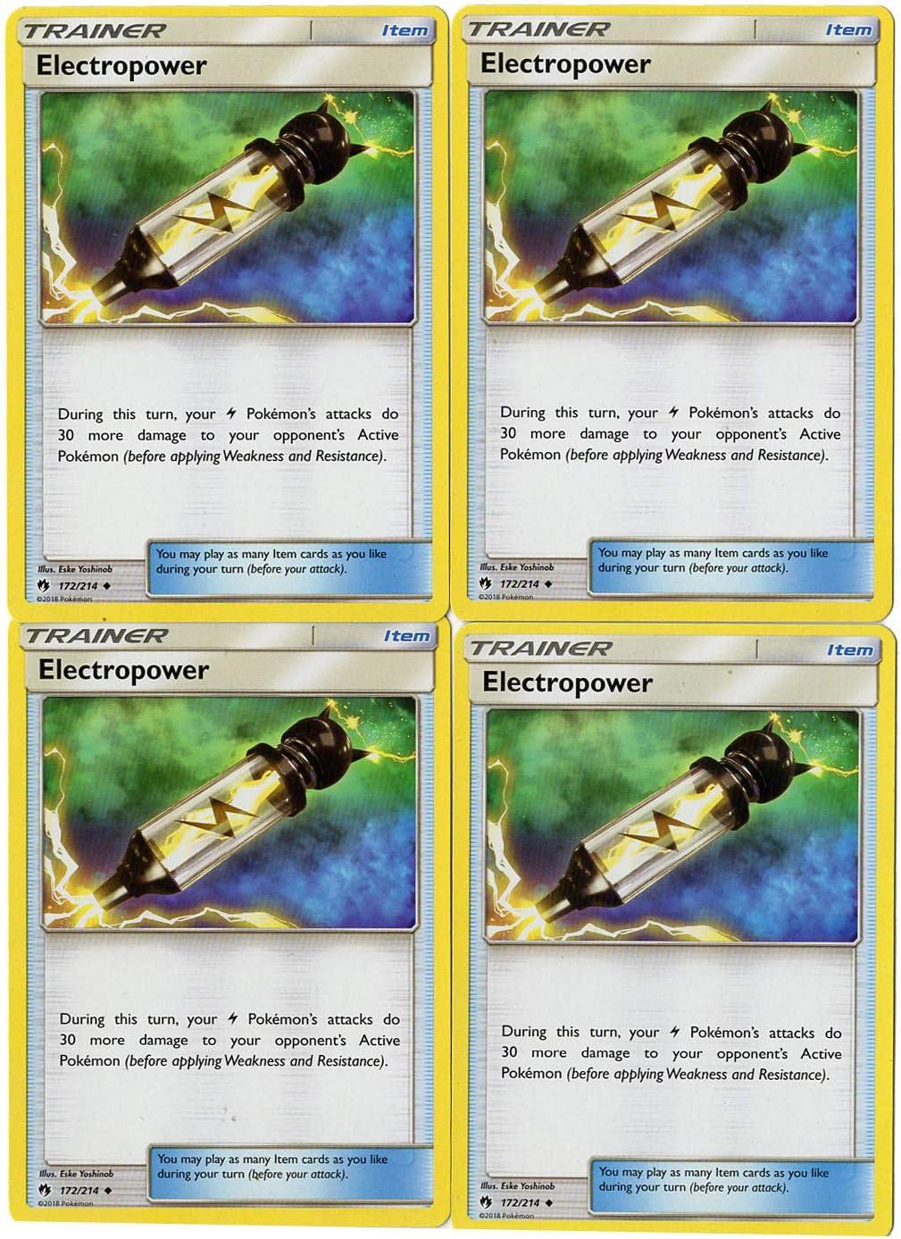 Electropower 172//214 Lost Thunder Pokemon Card TCG Online