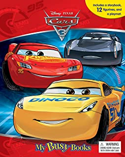 DisneyPixar Cars My Busy Book Phidal Publishing Inc - Cars 2 cool cars book