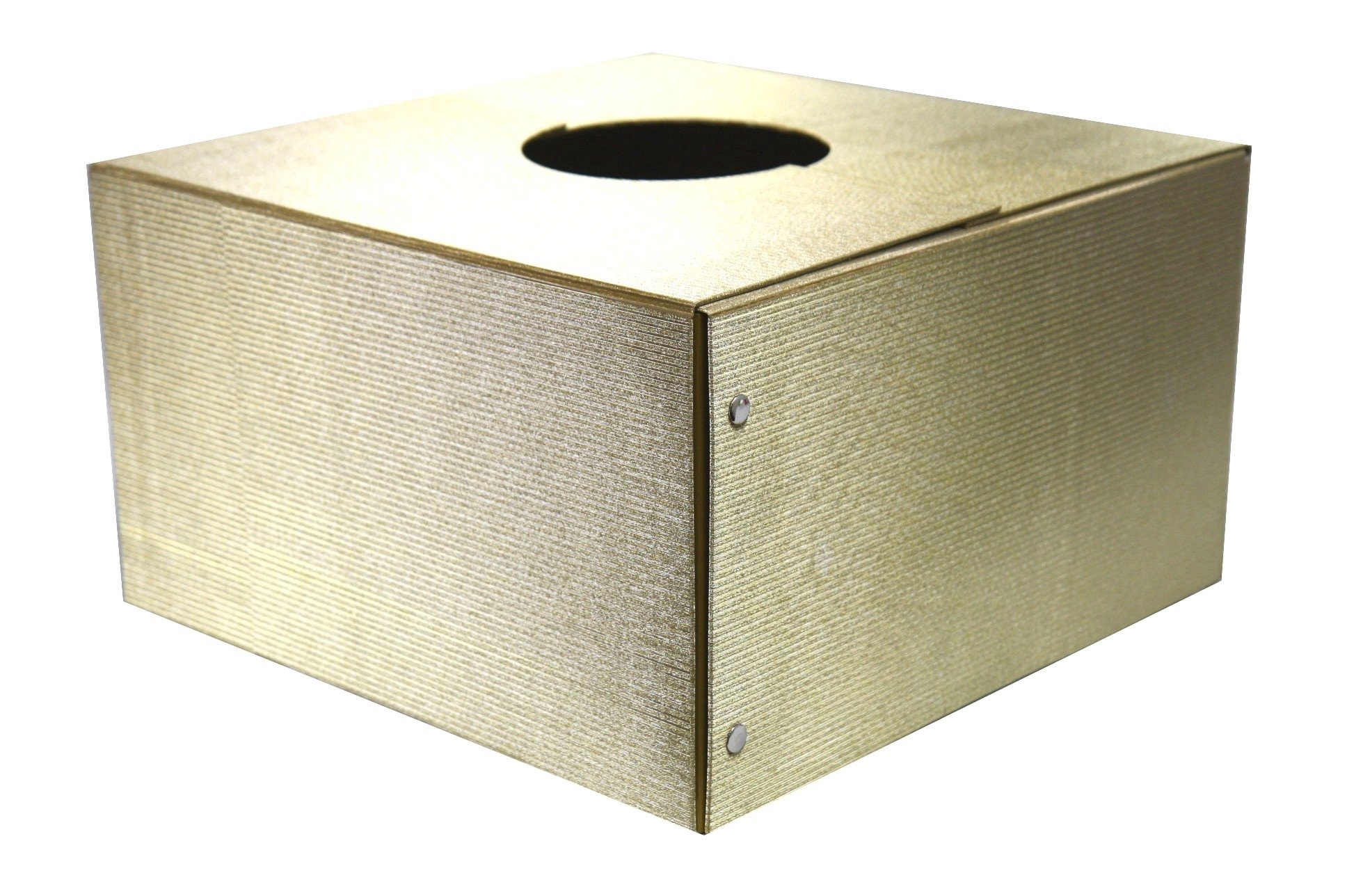 The Original Christmas Tree Box, Deluxe Gold Sparkle - 20''x20''x11''