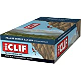 CLIF BAR - Energy Bar - Peanut Butter Banana Dark Chocolate - (2.4 Ounce Protein Bar, 12 Count)