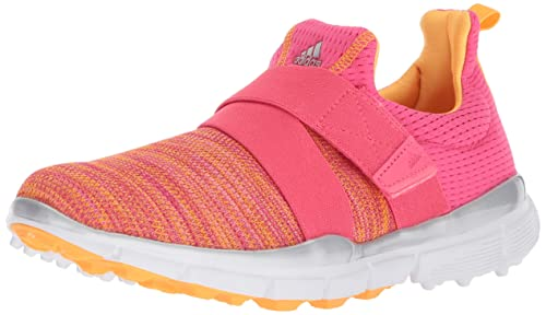 buy popular 1579e e88b8 Adidas Women s Climacool Knit Golf Shoe, Real Pink Real Coral Real Gold,