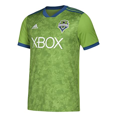 various colors 44a76 2d989 adidas Youth Seattle Sounders FC Soccer Jersey Home Replica