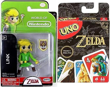 Amazon.com: AYB Products Zelda Go! Uno Card Game Special ...