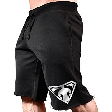 best MonstaMan Muscle Symbol Sweat Shorts reviews