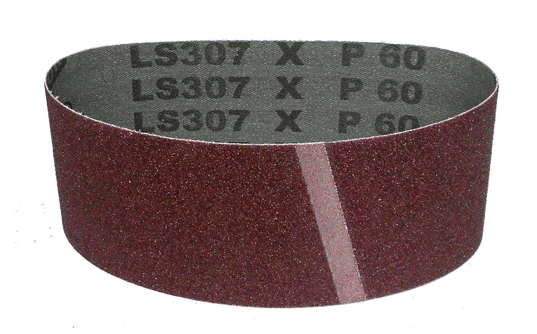 Klingspor LS 307 X Schleifband gemischte K/örnungen 65 x 410 mm 8-teiliges Premium-Set