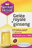 VITARMONYL Nectar Gelée Royale + Ginseng 30 Capsules - Lot de 2