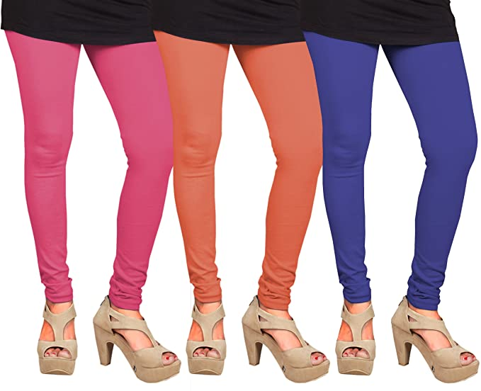 db0bc56a9f CAY 100% Cotton Combo of Blue, Orange and Baby Pink Color Plain ...