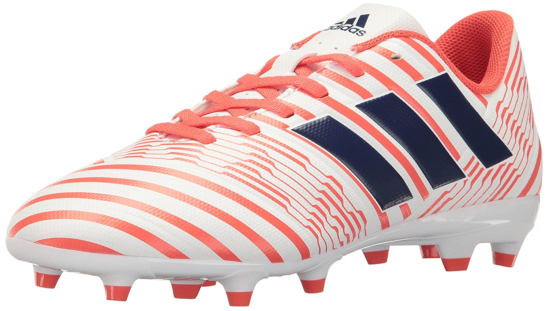 adidas Women's Nemeziz 17.4 Fg W Soccer Shoe B01MU0DP70 7.5 B(M) US|White/Mystery Ink/Easy Coral