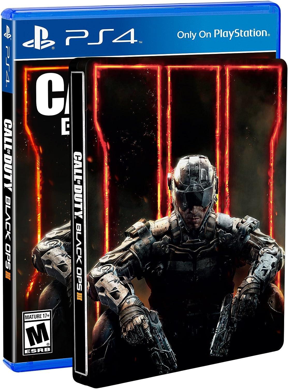 Amazon com: Call of Duty: Black Ops III Steelbook Edition