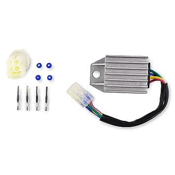 amazon com voltage regulator rectifier for honda crf 250 x crf250x rh amazon com