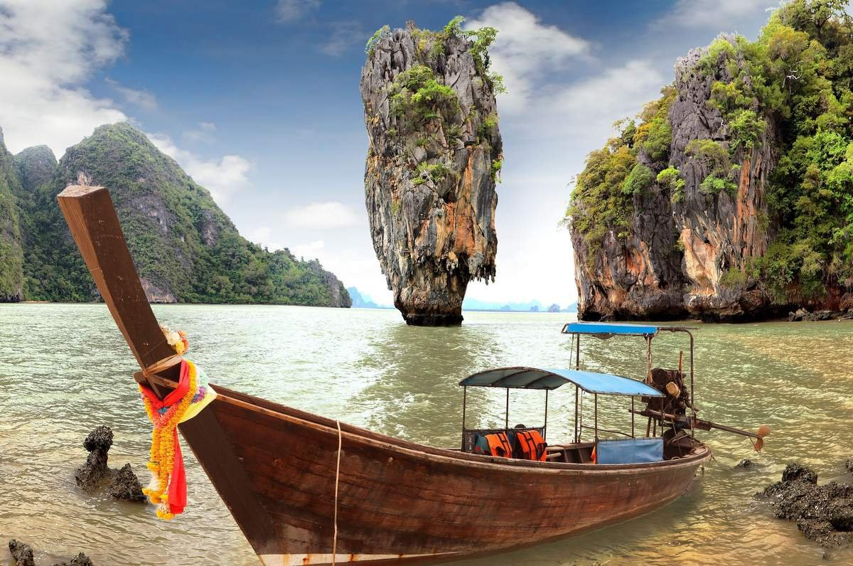 James Bond Island Sightseeing Experience For Two In Thailand Tinggly Voucher Gift Card In A Gift Box