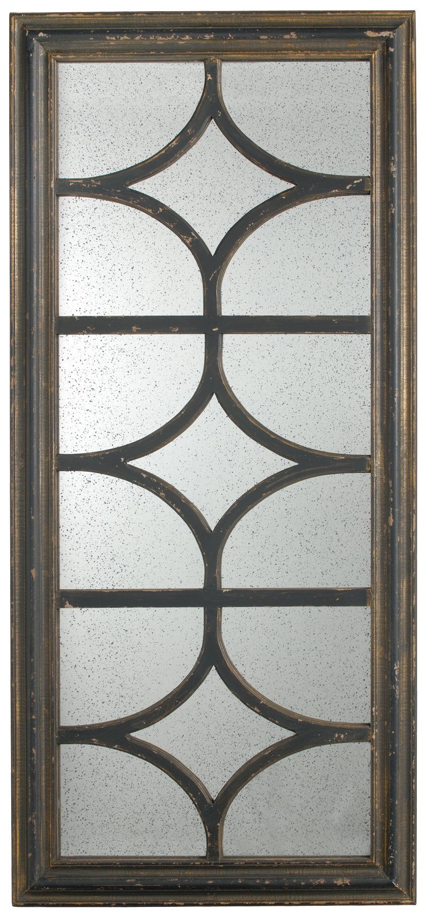 A&B Home Aulton Place Mirror, 27.5 by 59-Inch, Black