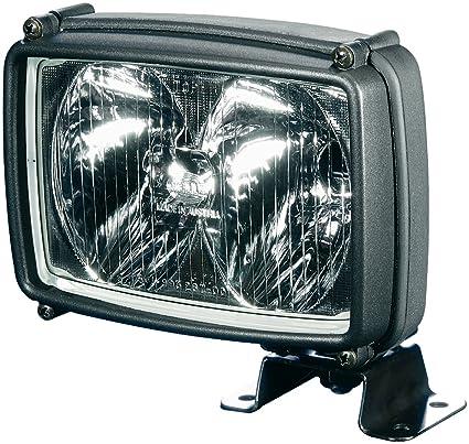 2x Hella Arbeitsscheinwerfer Ultra Beam FF Fernscheinwerfer 12V H3 Glühlampen