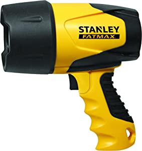 STANLEY FATMAX FL5W10 Rechargeable 520 Lumen Lithium Ion Waterproof LED Spotlight Flashlight