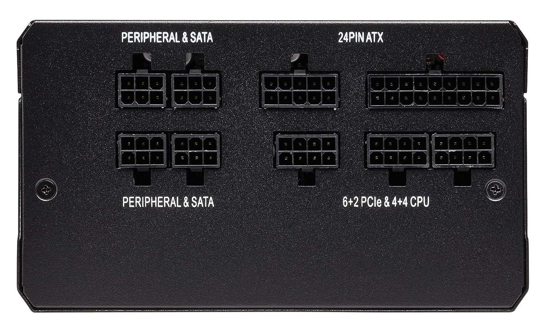Black Corsair RMi Series RM750i ATX//EPS Fully Modular 80 PLUS Gold 750 W Power Supply Unit
