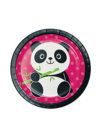 Panda Party 7 inch Cake/Dessert Plates (8 ct)  sc 1 st  Amazon.com & Amazon.com: Panda Party 7 inch Cake/Dessert Plates (8 ct): Health ...