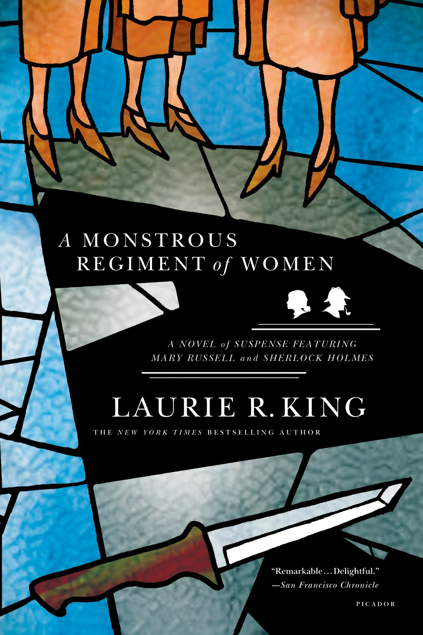 A Monstrous Regiment Of Women A Novel Of Suspense Featuring Mary Russell And Sherlock Holmes A Mary Russell Mystery 2 King Laurie R 9780312427375 Amazon Com Books