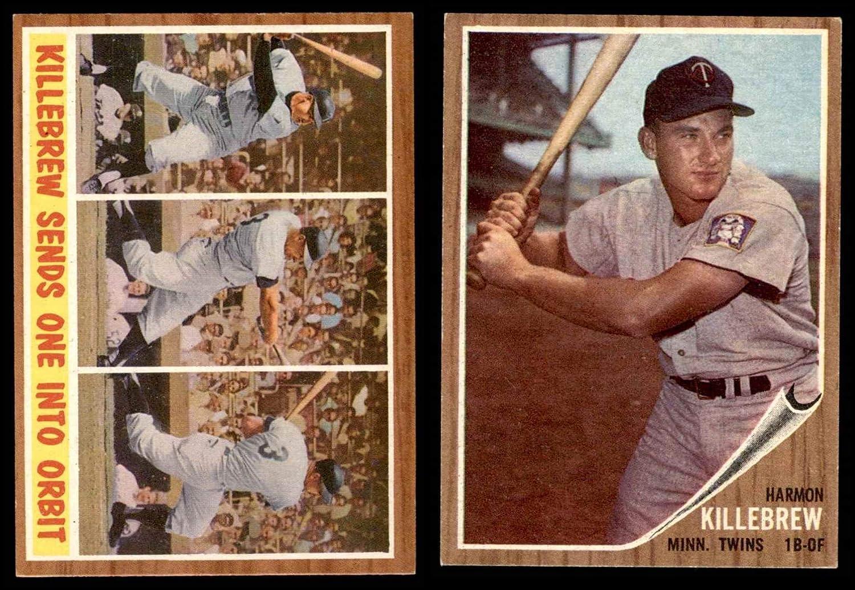 1962 Topps Minnesota Twins Team Set Minnesota Twins (Baseball Set) Dean's Cards 7 - NM Twins 814ktRNQxoLSL1500_