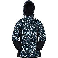 Mountain Warehouse Chaqueta de esquí Dawn para Mujer - A Prueba de Nieve, Abrigo de esquí con Forro Polar, puños…