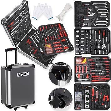 Caja de herramientas-carrito de Masko® 849: caja de herramientas ...