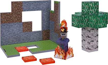 Amazon.com: Juego Minecraft de bosque de abedules, bioma ...