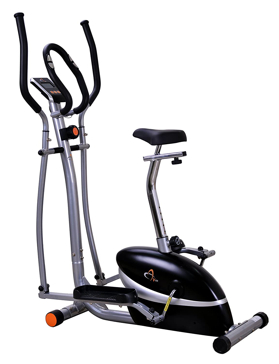 V-fit MCCT1 Combination 2-in-1 Magnetic Cycle and Elliptical Trainer:  Amazon.co.uk: Sports & Outdoors